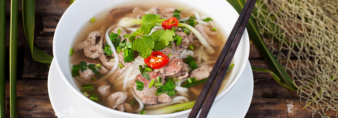 Phô au bœuf Vietnamien